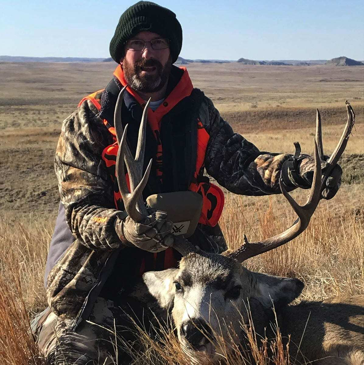 McCoy, an avid hunter, wants to emphasize Battle Ground's proximity to natural areas including Mt. Saint Helens and the Gifford Pinchot National Forest. Photo courtesy Troy McCoy