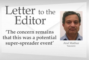 Letter: 'The concern remains that this was a potential super-spreader event'