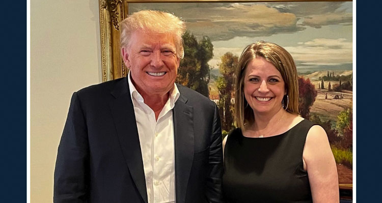 Heidi St. John, who is one of three candidates challenging Jaime Herrera Beutler in the Third Congressional District, issues statement revealing meeting with Trump.