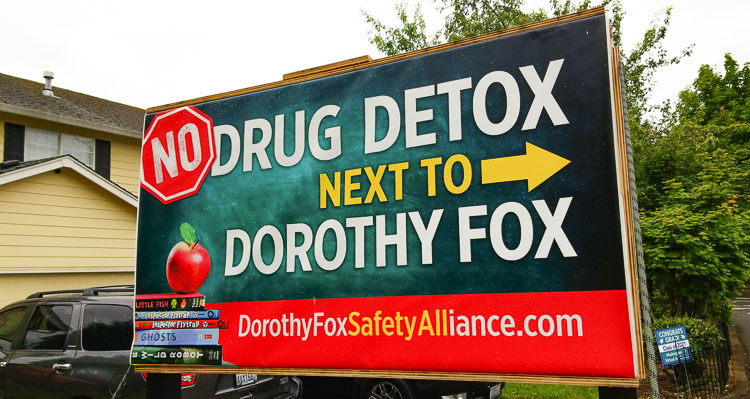 At Monday's Camas City Council meeting, a significant number of citizens expressed their concerns about the process the city used to allow a drug detox facility to be approved for a location next to Dorothy Fox Elementary School.