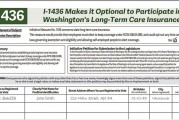 I-1436 will give workers choices on state's Long Term Care insurance program