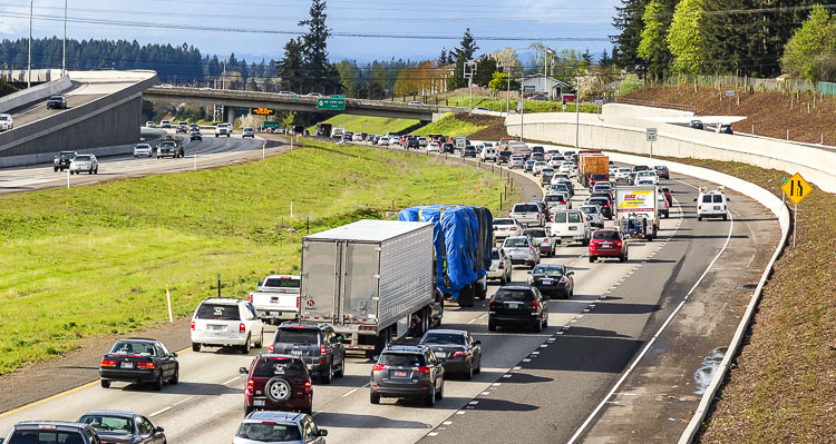 Mariya Frost of the Washington Policy Center believes a recent presentation to the Washington State Transportation Commission shows the impact congestion relief could have on access to more jobs.