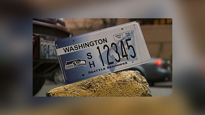 When metal plates become available customers will be contacted and informed they can pick up their plates at the licensing office.