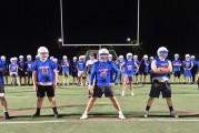 Ridgefield celebrates football holiday with midnight practice