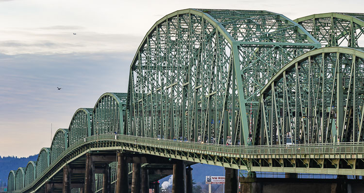 ODOT will close the northbound span of the Interstate Bridge Saturday night, Sept. 18, for maintenance.