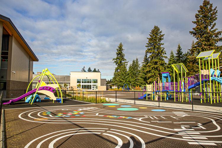 The project was funded through a 2017 voter-approved, $458 million bond that ultimately financed remodels, expansions, upgrades, improvements and new construction at 28 schools within the district. Photo courtesy Vancouver Public Schools