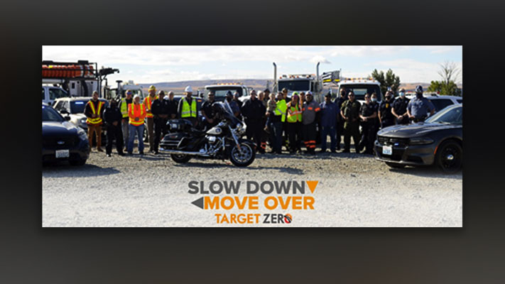 Twenty-four emergency responders, on average, including tow providers are struck and killed by vehicles while working at the roadside each year