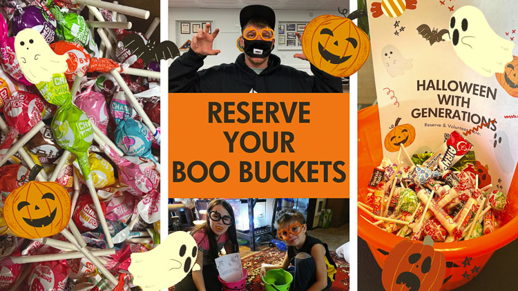 Reservations for Boo Buckets are open online on a first-come, first-serve basis as Generations Church wants to bring joy and happiness to the community, as well as a safe way to offer candy during the pandemic